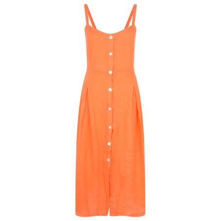 TOC  Cammie Linen Easy Fit Dress  - Orange