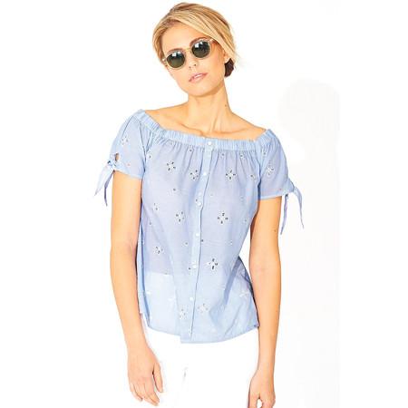 Adini Boardwalk Shiffley Polly Blouse - Blue