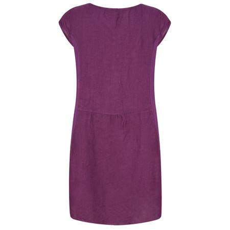 TOC  Plumia Linen Dress - Purple