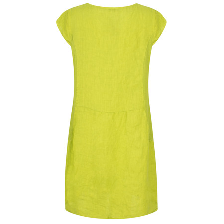 TOC  Plumia Linen Dress - Green