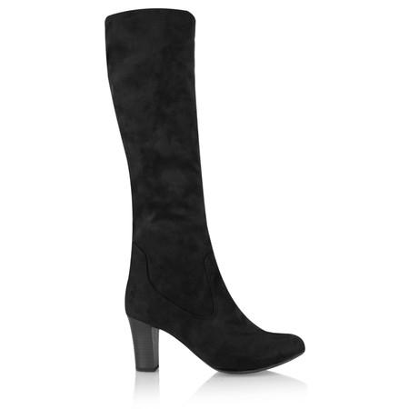Caprice Footwear Aliz Long Stretch Boot - Black
