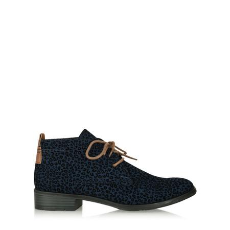 Marco Tozzi Luisa Animali Desert Boot - Blue