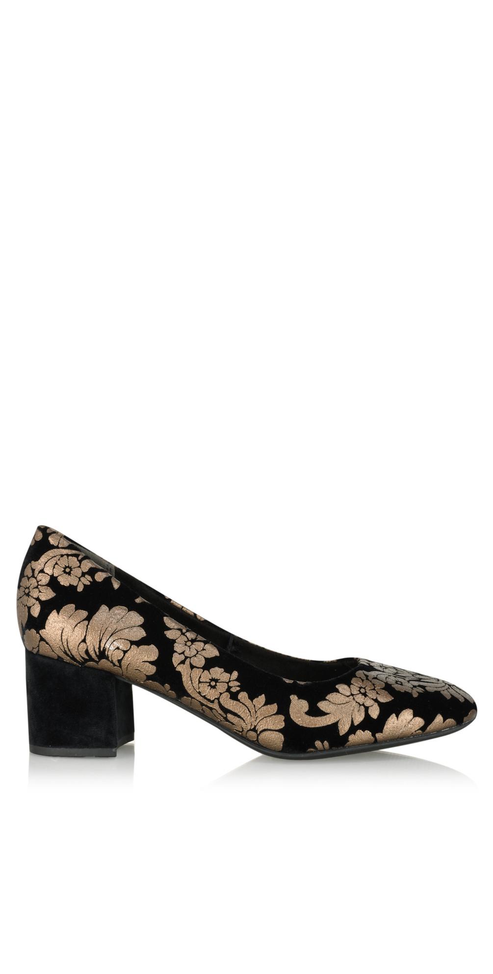 Sophia Brocade Court Shoe main image