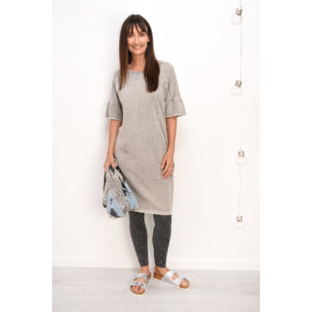 Sandwich Clothing Jersey Shift Dress - Grey