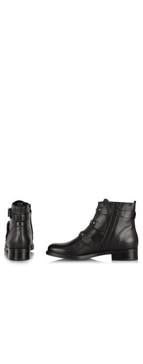 Tamaris  Odette Buckle Ankle Boot Black