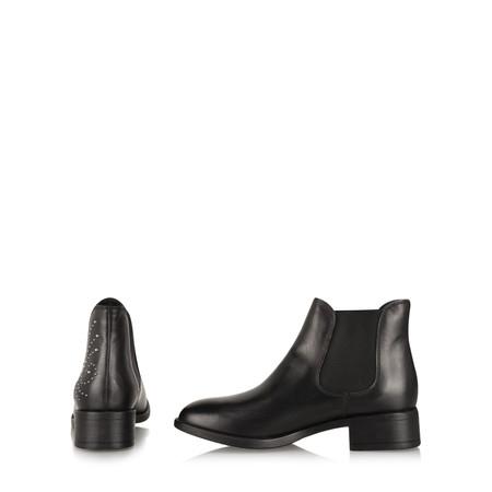Tamaris  Camilla Stud Ankle Boot - Black