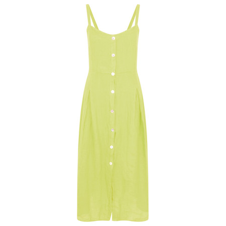 TOC  Cammie Linen Easy Fit Dress  - Green