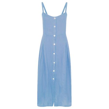 TOC  Cammie Linen Easy Fit Dress  - Blue