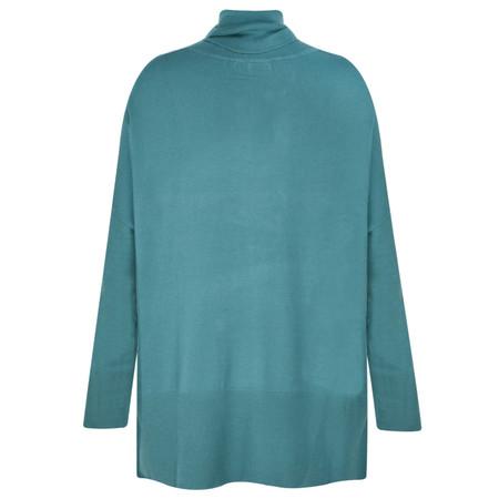 Adini Turin Knit Castello Jumper - Blue