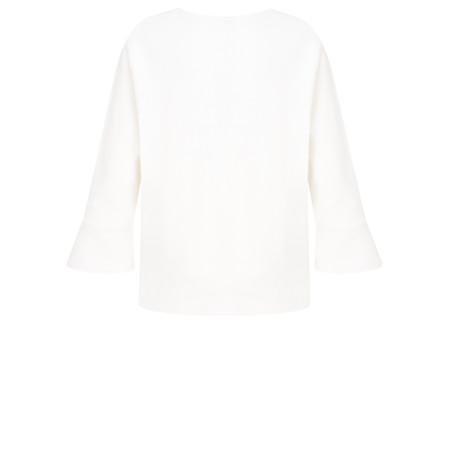 Adini Lussari Knit Hope Top - Off-White