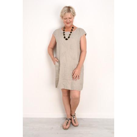 TOC  Plumia Linen Dress - Grey