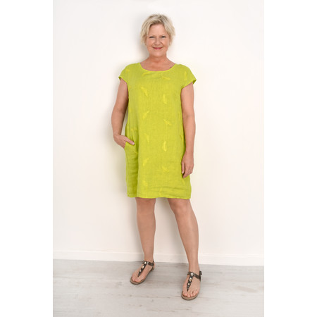 TOC  Plumia Linen Dress - Green