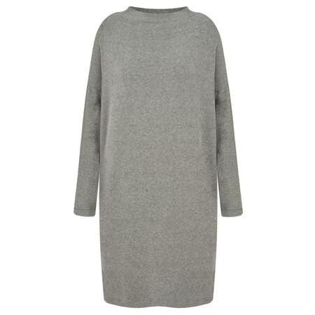 Mama B Oversized Bilbao Midi Knit Dress - Grey