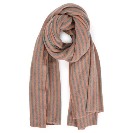 Mama B Sciarpa Stripe Blanket Scarf - Pink