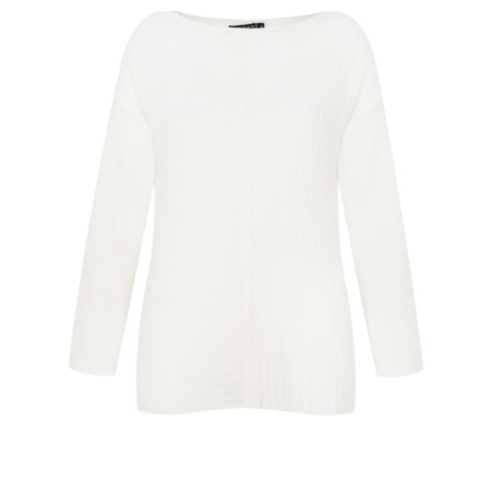 Grizas Mette Soft Knit Jumper - White