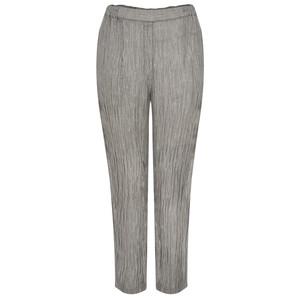 Grizas Karena Solid Crinkle Easyfit Trouser