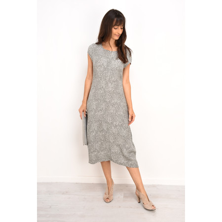 Grizas Jytte Flower Print Dress - Grey