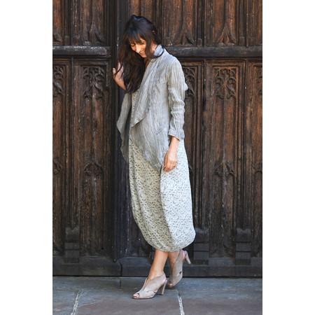 Grizas Bridgette Cap Sleeve Dress - Grey