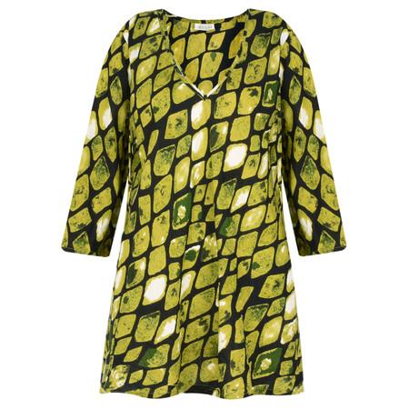 Masai Clothing Kata Lime Top - Green