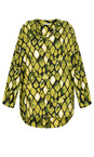 Masai Clothing Lime Org Irma Lime Blouse