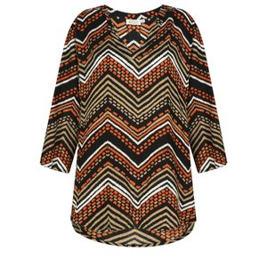 Masai Clothing Bahati Zig- Zag Top
