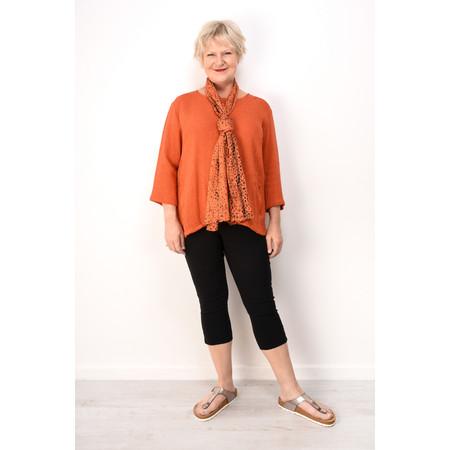 Masai Clothing Barbara Boucle Knit Top - Orange