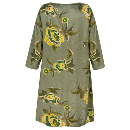 Masai Clothing Goella Floral Tunic - Green