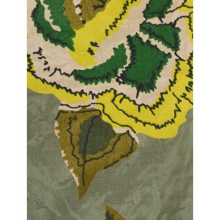 Masai Clothing Along Floral Print Scarf - Green