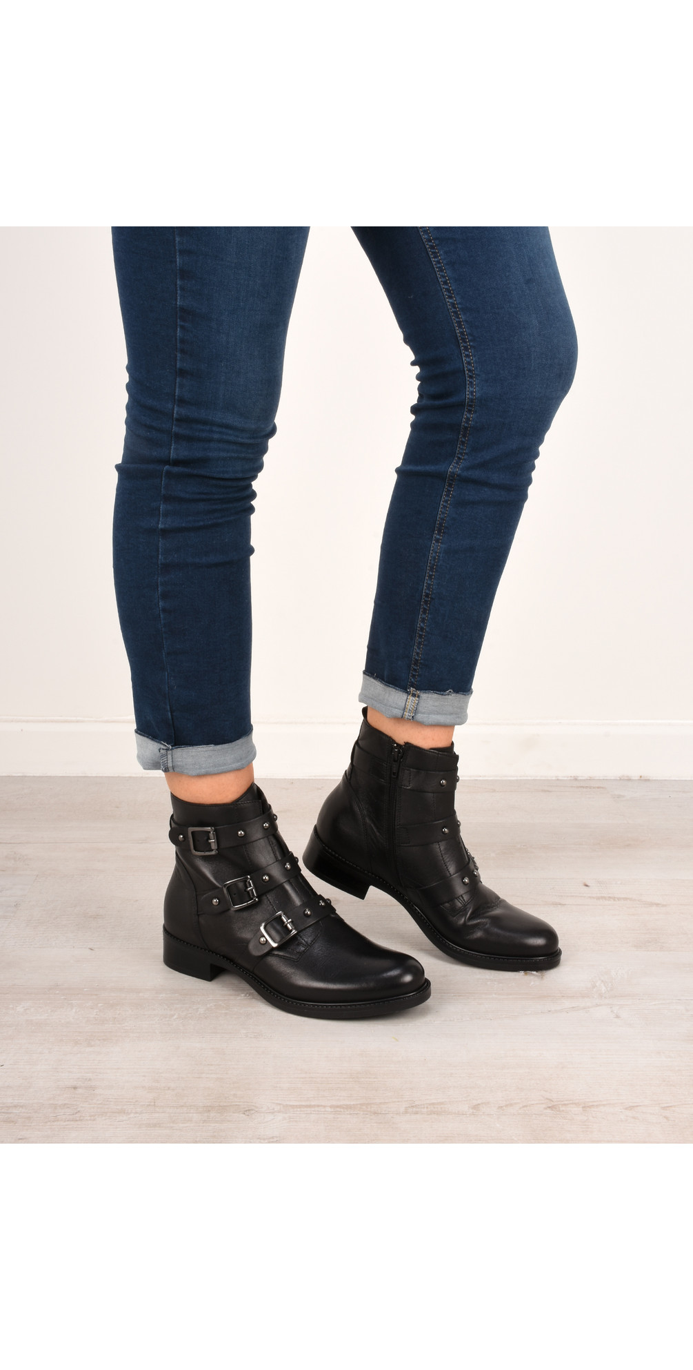 Odette Buckle Ankle Boot main image