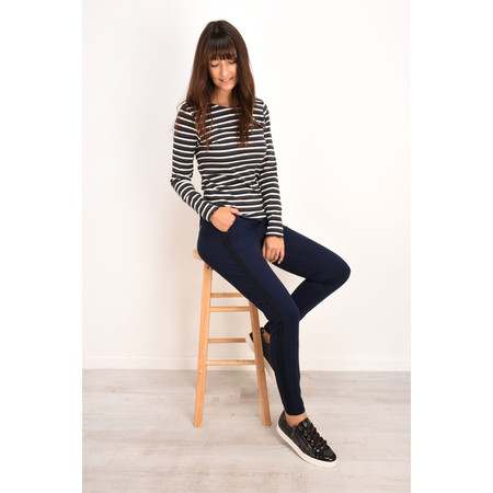 Sandwich Clothing Light Double Knit Jersey Trouser - Blue