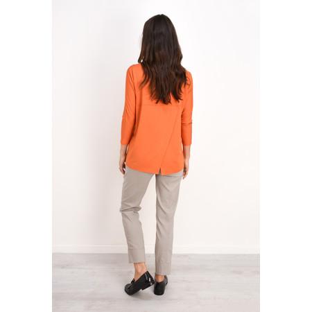 Masai Clothing Basia Jersey Top - Orange