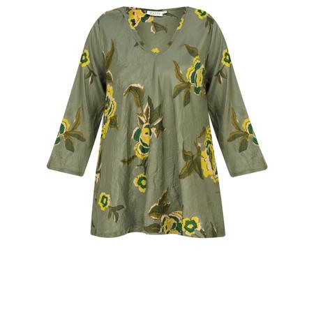 Masai Clothing Kaisa Floral Top - Green