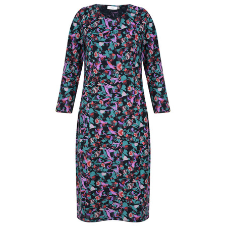 Adini Tiverton Print Sindy Dress - Blue