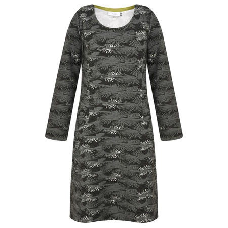 Adini Fossil Weave Debra Dress - Grey