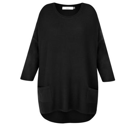 Adini Turin Knit Pallazzo Jumper - Black