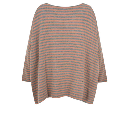 Mama B Siena Asymmetric Knit Top - Pink