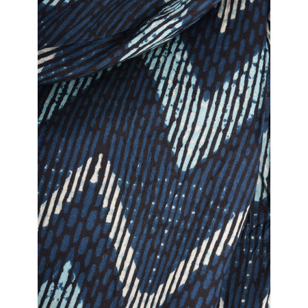 Masai Clothing Along Scarf - Blue