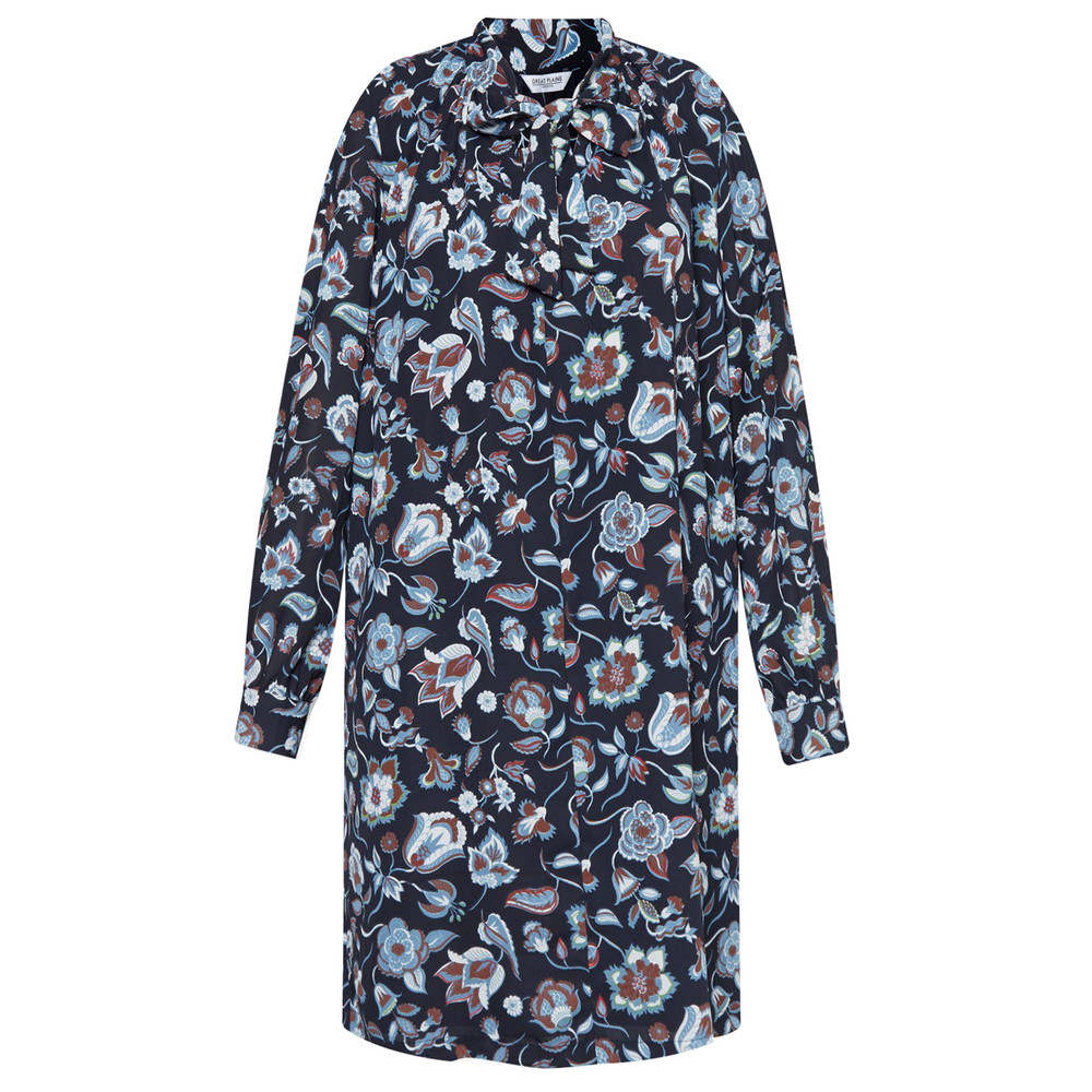 Great Plains Moray Floral Smock Dress Midnight Combo