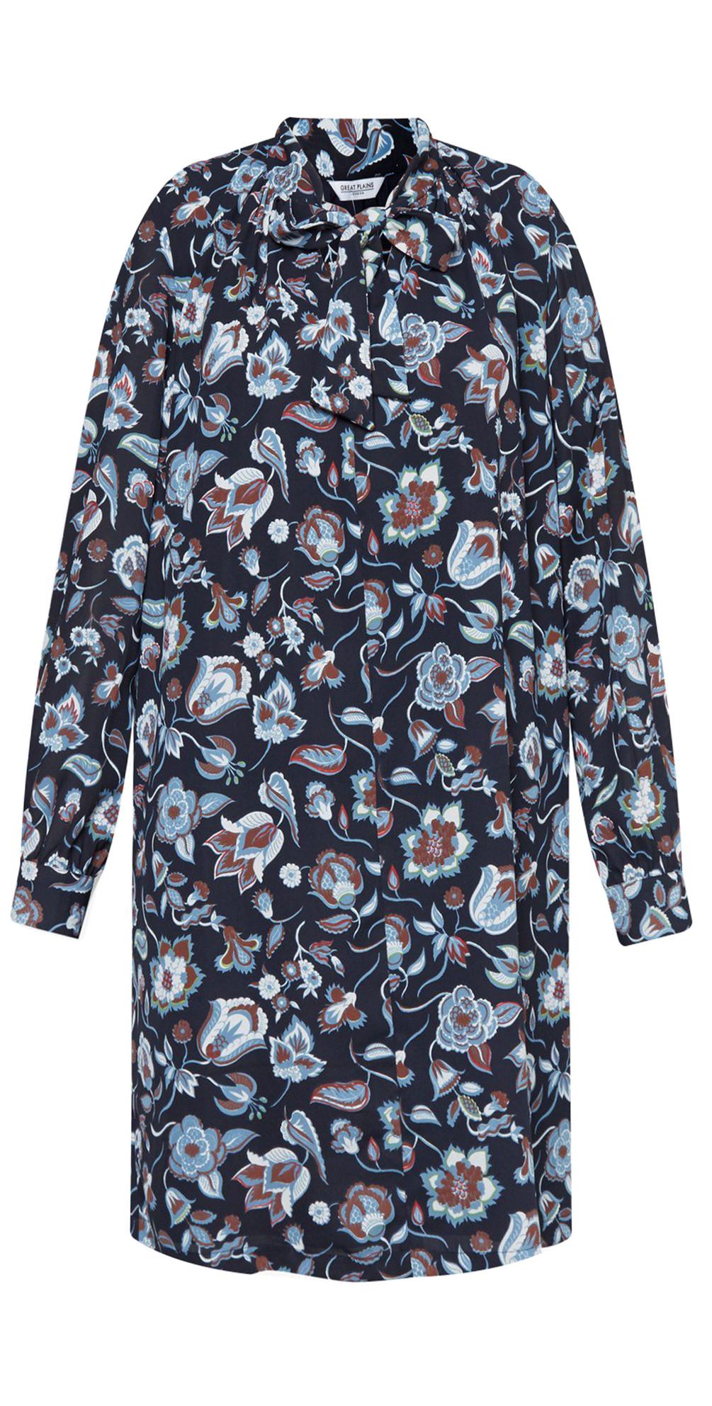 Moray Floral Smock Dress main image