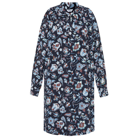 Great Plains Moray Floral Smock Dress - Blue