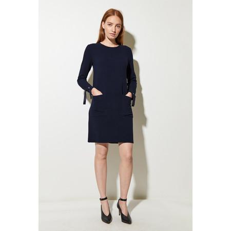 Great Plains Ottoman Jersey Dress - Blue