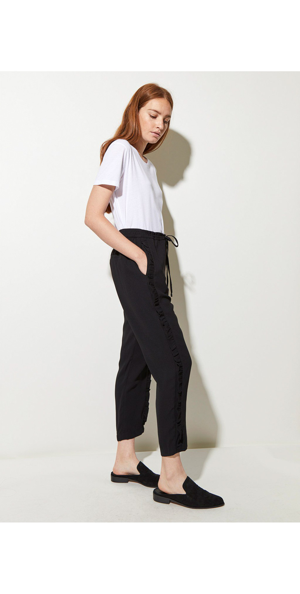 Frill Leg Trousers main image