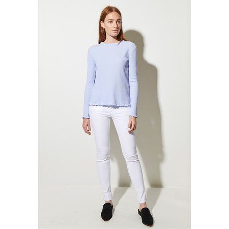 Great Plains Fitted Rib Top - Blue