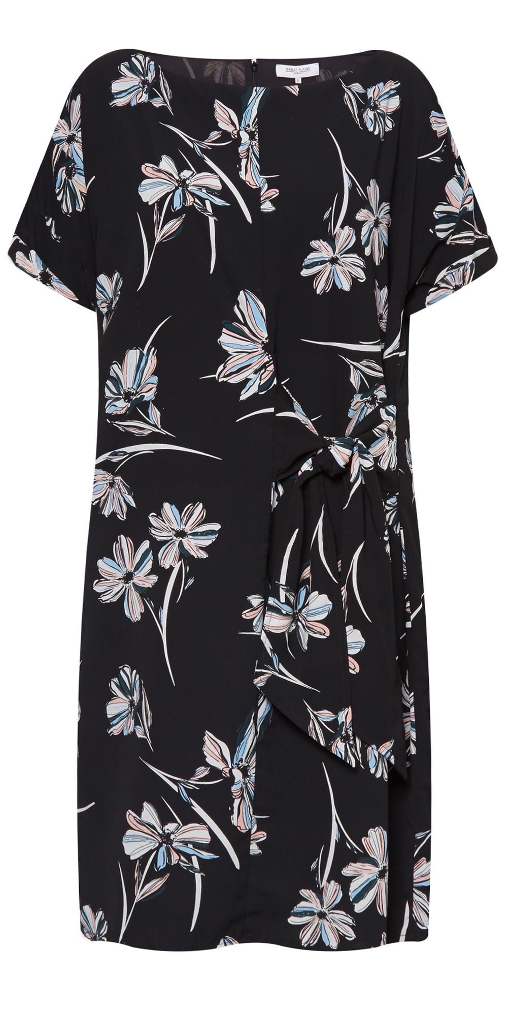 Camilla Bloom Mix Tie Dress main image