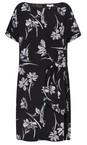 Great Plains Sweet Blush Multi Camilla Bloom Mix Tie Dress