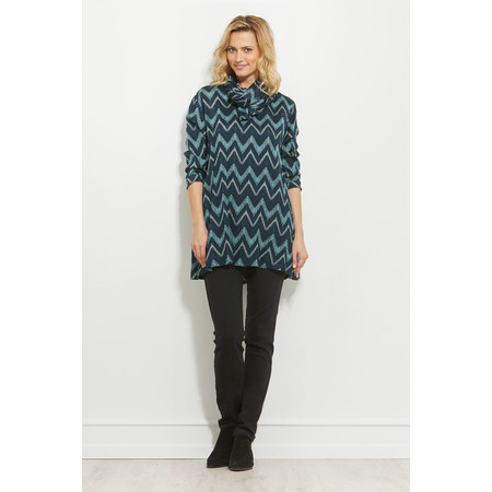 Masai Clothing Glenna Tunic - Blue