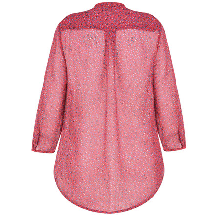 French Connection Aubine Crinkle Shirt - Pink