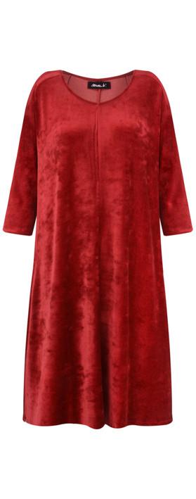 Mama B Abano Dress Rust