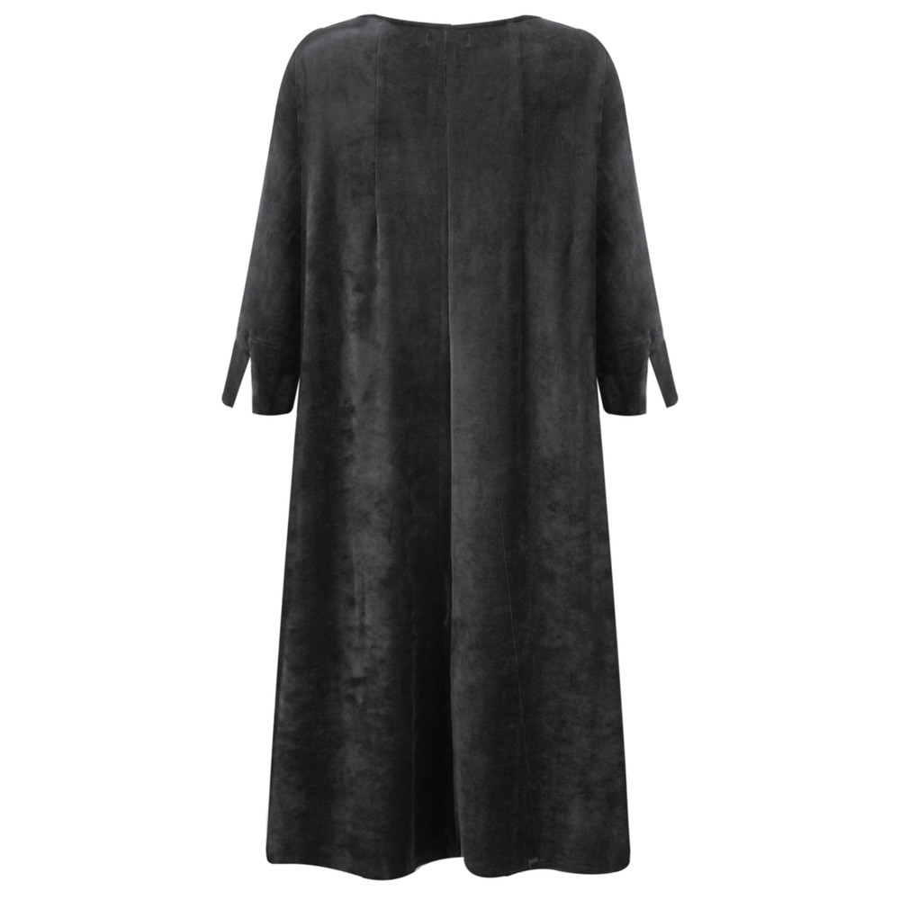Mama B Abano Dress Anthracite