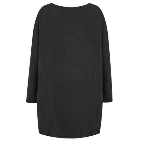 Mama B Gijon Plain Knit Top - Grey